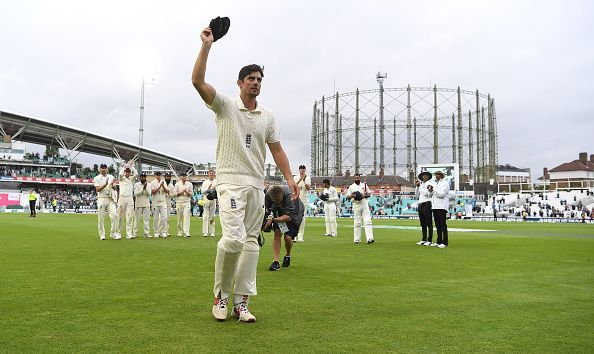 Cook had a very good record against India