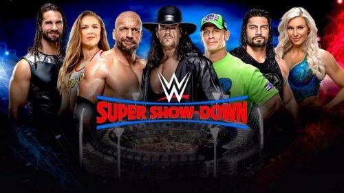 WWE Super Showdown, WWE,