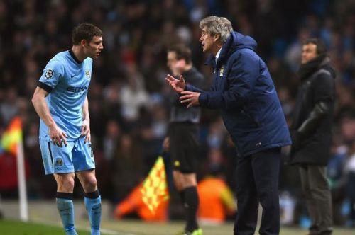 Manchester City's former boss, Manuel Pellegrini is a huge Milner fan