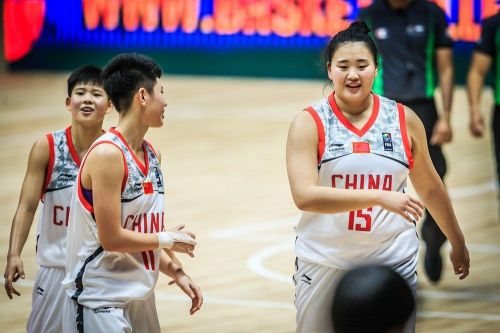 Number 15 Yutong Liu from China would be hard to stop (Image Courtesy: FIBA)