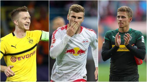 Marco Reus, Timo Werner, Thorgan Hazard