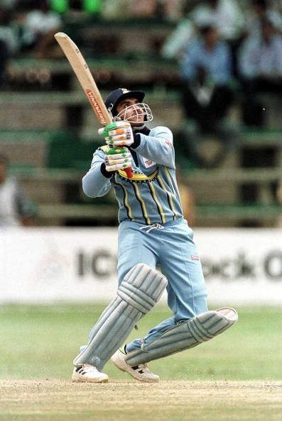 Sourav Ganguly played a vital role in the ICC Knockout Trophy in 2000 by scoring centuries in the Semi Final and Final