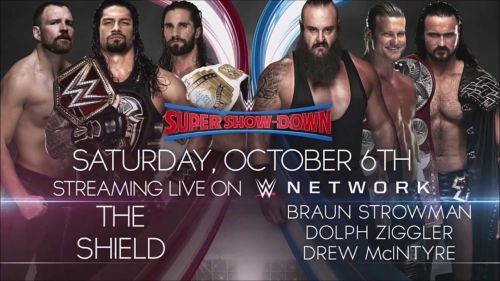 The six-man tag-team match is likely to headline the show