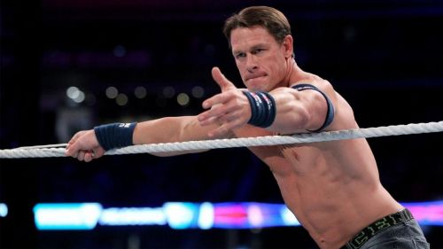 Why did John Cena not take any bumps?