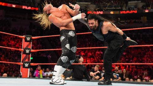 Image result for roman reigns vs dolph ziggler raw