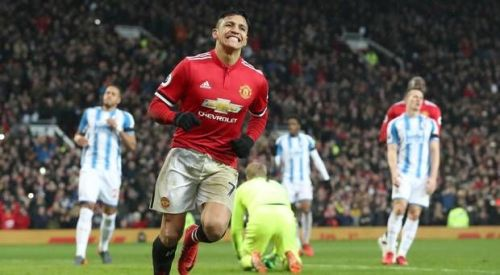 Image result for alexis sanchez and lukaku