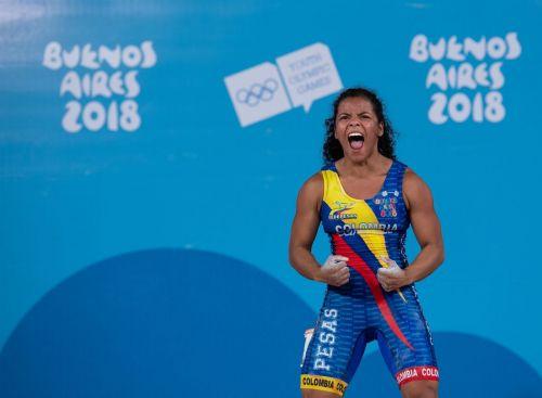 Silver medallist Yineth Milena Santoya Ortiz from Colombia (Image Courtesy: IOC)