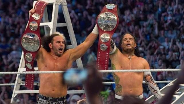 Matt and Jeff returned to WWE at WrestleMania 33.