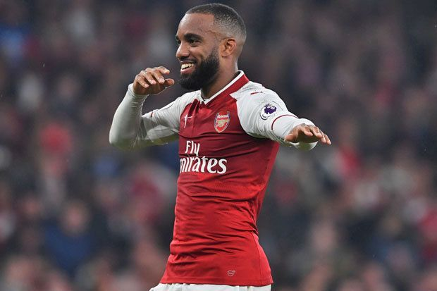 Lacazette - He is firing on all cylinders for The Gunners