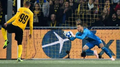 Neto was the best at Young Boys-Valencia CF (Photo: UEFA).