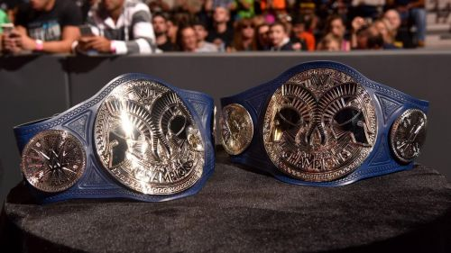 The current SmackDown tag-titles were introduced in 2016