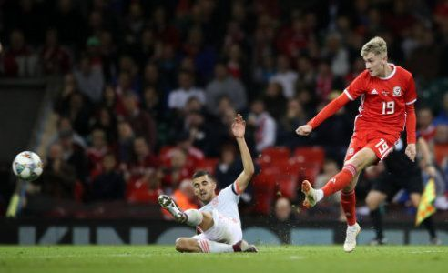 Brooks was Wales' standout performer during a frustrating evening