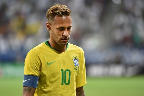 Neymar is glad Lionel Messi is not in the Argentina squad to torment Brazil