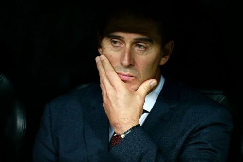 Lopetegui has endured a sticky start to his Real Madrid career