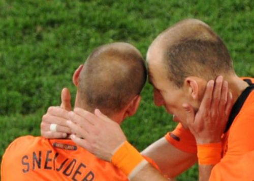 Sneijder and Robben made even the most annoying Vuvuzela play some hair-raising tunes