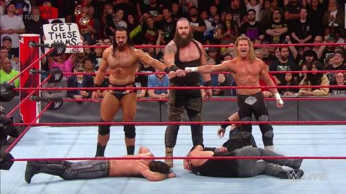 There were a number of botches this week on Raw