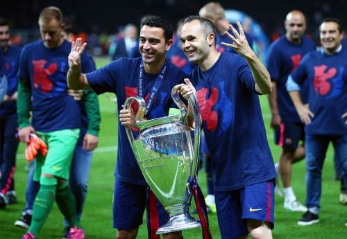 Xavi-Iniesta: An iconic footballing duo