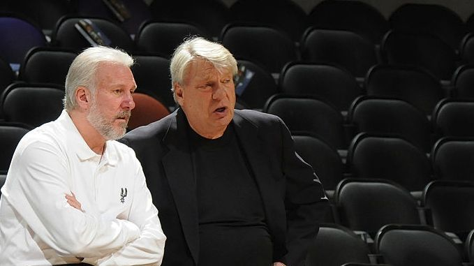 Two of the greatest coaches ever in NBA history. Gregg Popovich & Don Nelson