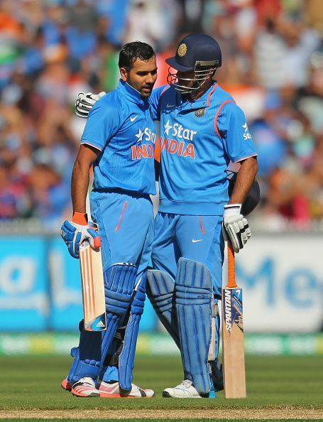 Rohit Sharma has used the potential of Dhoni to the best extent.