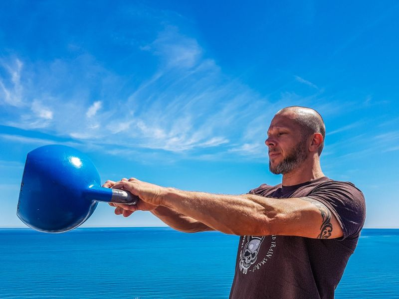Working with kettlebells provides a host of benefits
