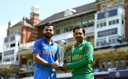 Could we see Virat Kohli and Sarfraz Ahmed at the toss on 14 July, 2019 at Lords?