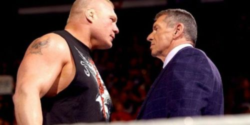 Brock Lesnar - Was not on Vince McMahon's Christmas card list in 2004