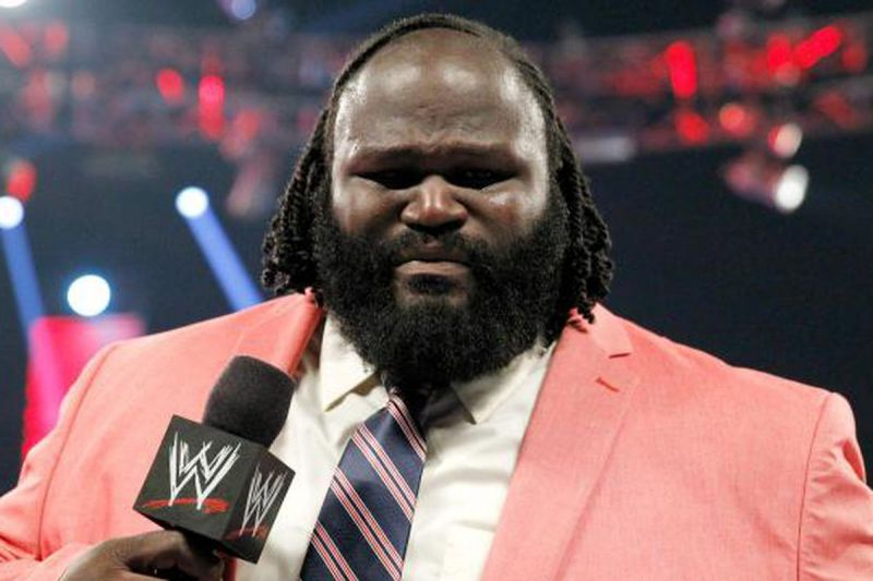 Mark Henry during his infamous fake retirement segment on Raw