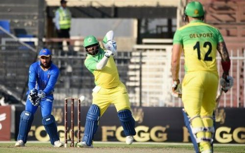 * M Shahzad is the leading run scorer in the tournament