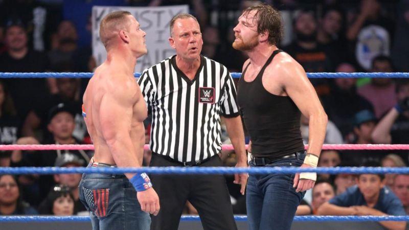 John Cena odpowiedział na odejście Deana Ambrose'a z WWE