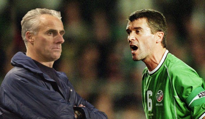 Roy Keane and Mick McCarthy