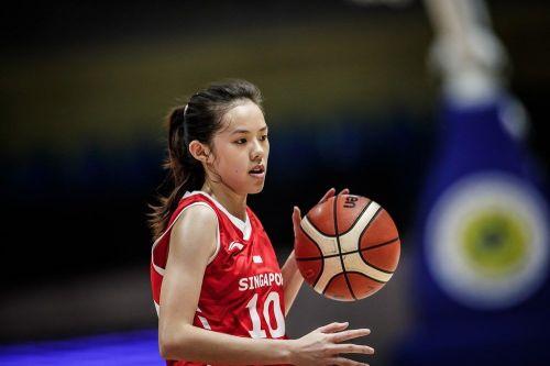 Shuting Valentia Wong from Singapore (Image Courtesy: FIBA)