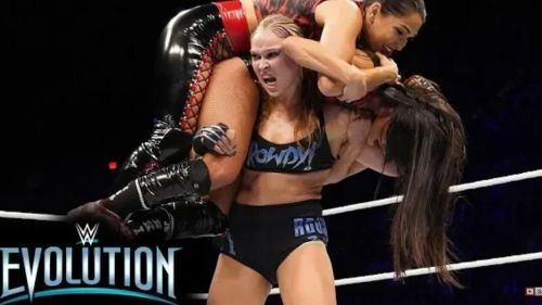 Ronda Rousey overcame the odds and retained rhe title.