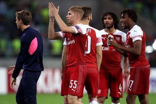 Qarabag FK v Arsenal - UEFA Europa League - Group E