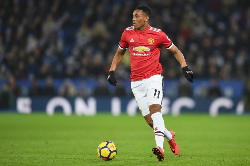Martial was brought to Manchester United by Louis van Gaal