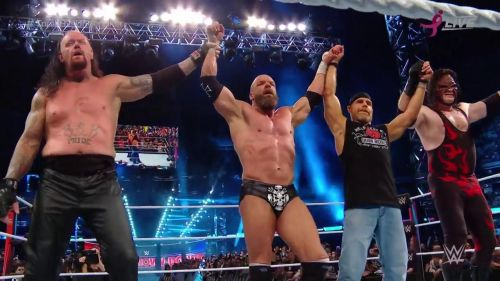 Four Men who embodied the Attitude Era