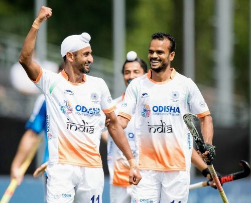 India beat South Korea 4-1 to end the pool stage