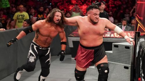 Samoa Joe's rivalry with AJ Styles ended at Super Show-Down