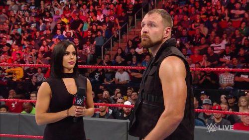 Dean Ambrose was forced to battle Braun Strowman this week on Raw