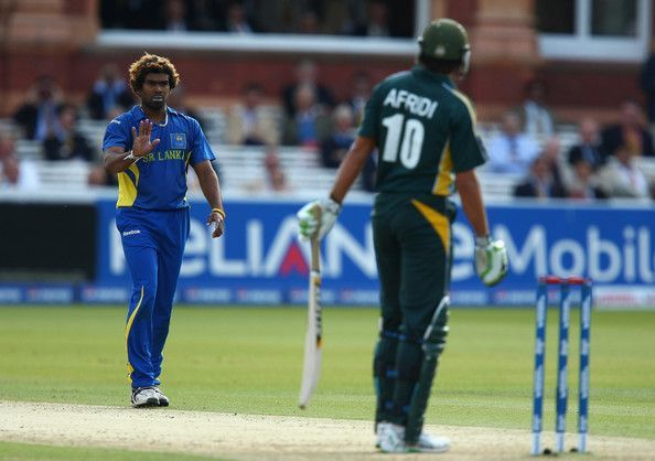 Lasith Malinga edges former Pakistan skipper Shahid Afridi by just one golden duck in ODI cricket