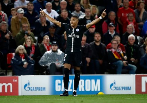 Kylian Mbappe is in an electrifying form at the moment