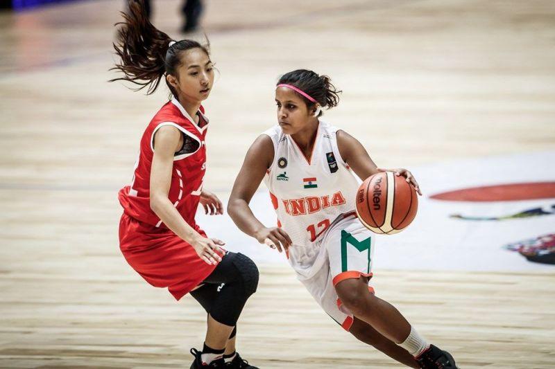 Gulabsha Ali was the star performer for India (Image Courtesy: FIBA)