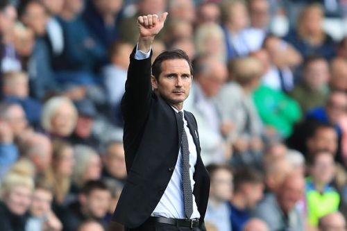Frank Lampard is embracing the challenge of management with Derby County