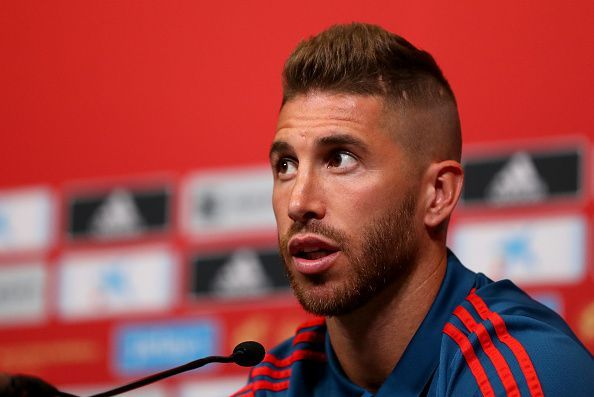 Ramos was recently voted for the ninth time in FIFA's best XI
