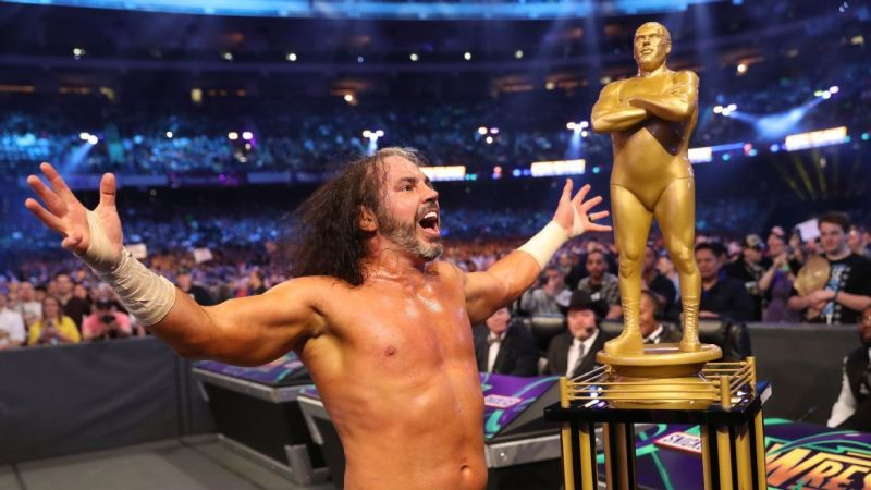 What did this win do for Matt Hardy?