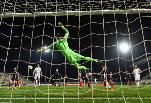 Livakovic pulled off a decisive save in the second half