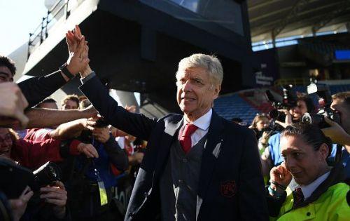 Arsene Wenger quit Arsenal last season