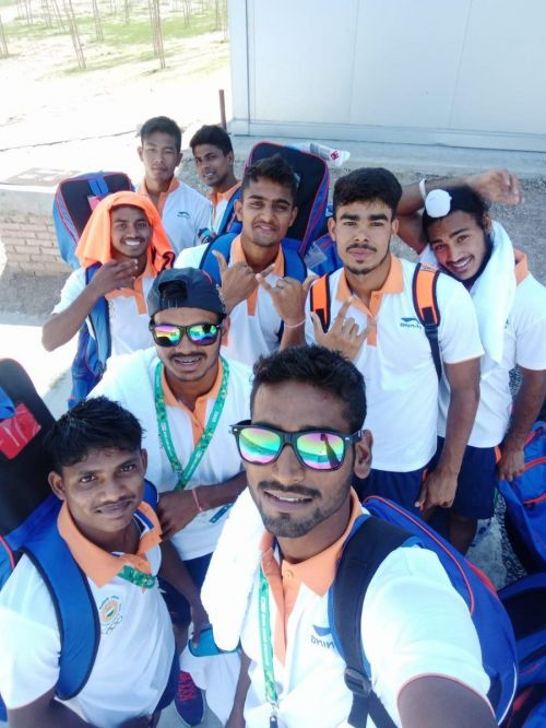 Indian team at Buenos Aires
