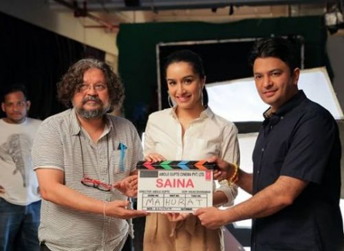 Director Amole Gupte with Shraddha Kapoor