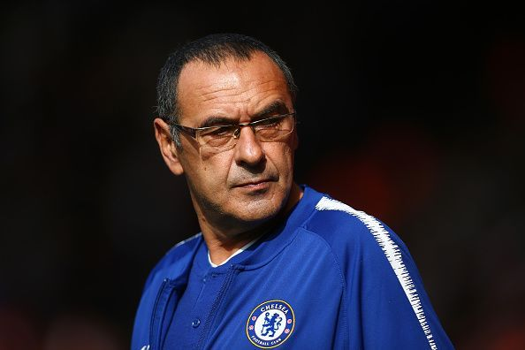 Maurizio Sarri is well-known as the inventor of Sarri-ball