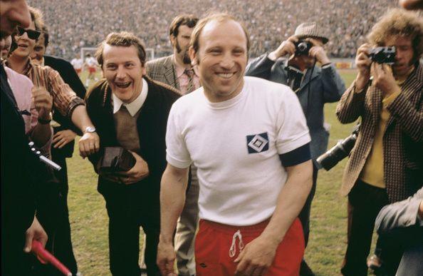 Uwe Seeler is a Hamburg legend